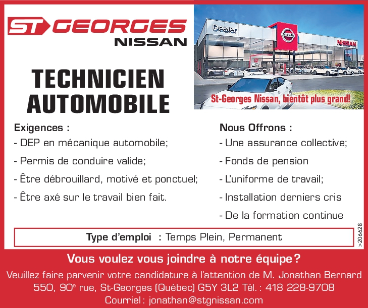 Logo de TECHNICIEN AUTOMOBILE